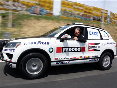 Goodyear sets wheels in motion for world record attempt across Eurasia