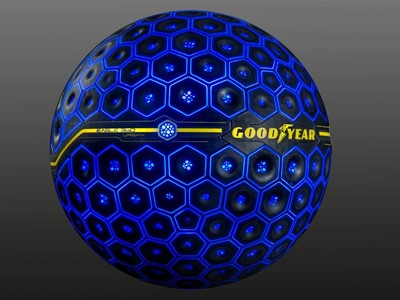 Goodyear svela Eagle 360 Urban,  un pneumatico concept con intelligenza artificiale