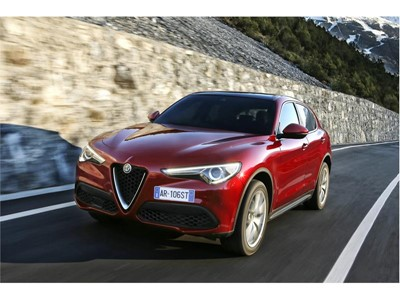Goodyear's Eagle F1 Asymmetric 3 SUV Ultra-High Performance tire chosen by Alfa Romeo for the new St