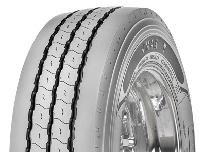 New KMAX Low Platform Trailer Tires from Goodyear