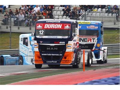 Emozioni e brividi a Misano con i pneumatici Goodyear Truck Racing