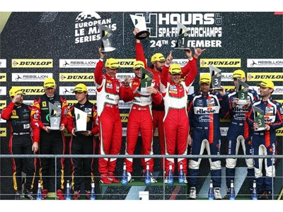 #51 Spirit of Race crew victorious at Spa