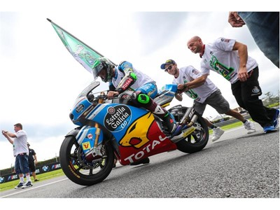 Franco Morbidelli scored 11 podiums to claim the Moto2 title