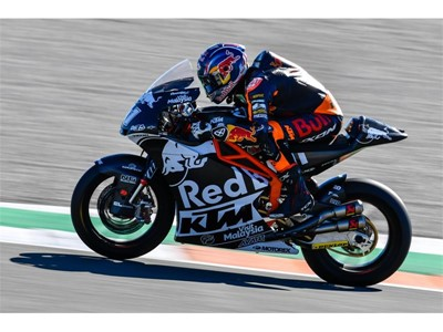 Brad Binder one of the riders tipped for Moto2 glory