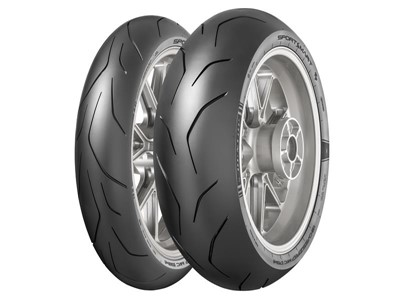Dunlop SportSmart TT - Top for dry handling, steering precision and braking stability in PS Magazine Test