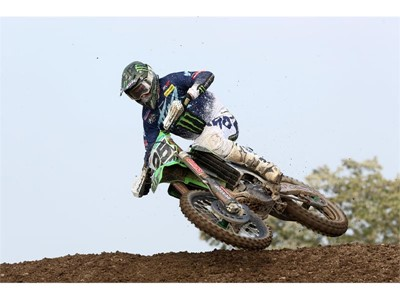 Desalle in podium contention in Germany