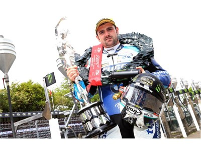 Dunlop takes double podium caps in opening Isle of Man TT race