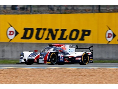 United Autosports Ligier - 3rd at Le Mans
