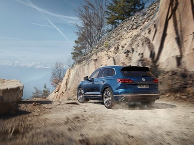 Goodyear chosen as OE for the new Volkswagen Touareg
