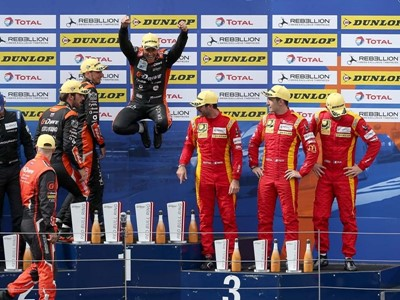 G-Drive Racing Extends ELMS lead with win on Dunlop Tyres