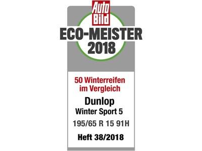 Auto Bild Dunlop Eco-Meister
