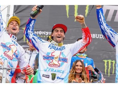 Dunlop guida il Team France alla vittoria del quinto titolo consecutivo del Motocross delle Nazioni