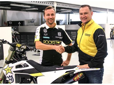 Husqvarna choose Dunlop for World Championship MXGP attack