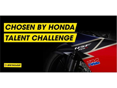 Dunlop - Chosen by the Honda Talent Challenge