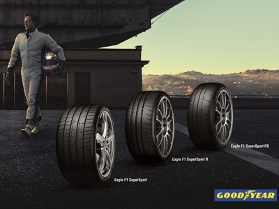 Public debut of new Goodyear Eagle F1 SuperSport range at the Geneva International Motor Show 2019