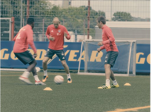 Goodyear new TV commercial with FC Bayern