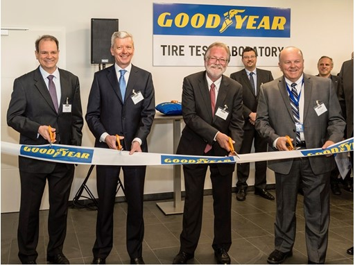 Goodyear Tire Test Laboratory - Opening