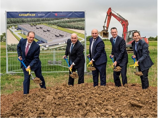 Groundbreaking Goodyear Mercury Production (Luxembourg)