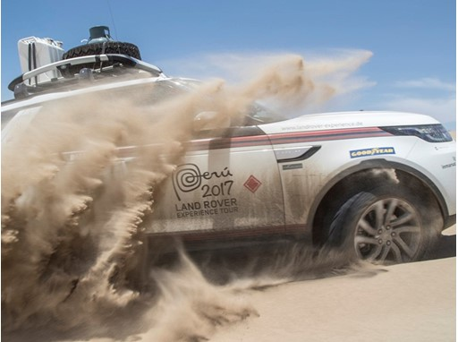 Goodyear Land Rover Experience Tour - Image 1