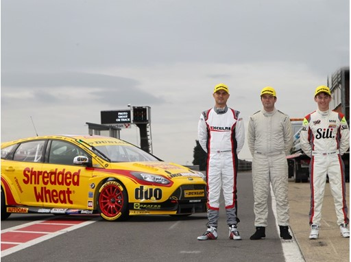The three Dunlop BTCC Prize Drive Winners