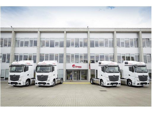 Girteka Logistics Chooses Goodyear