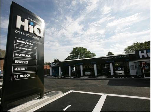 HiQ Store Front