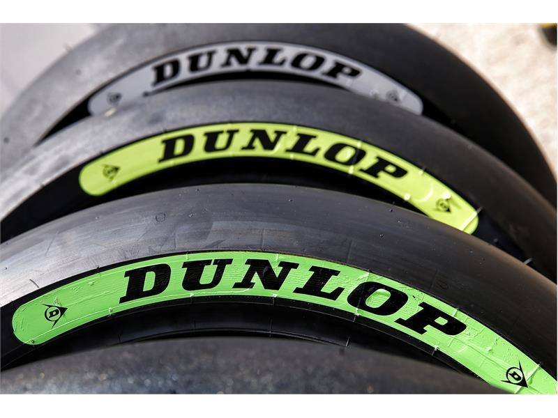 Goodyear Newsroom : New Dunlop tyre colours to help <b>Moto2</b> and ...