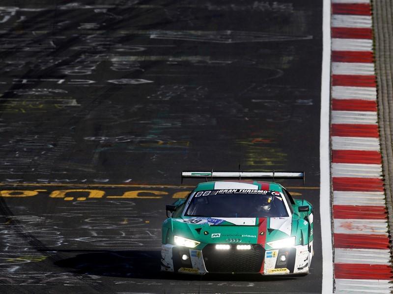 Goodyear Newsroom : Dunlop teams dominate thrilling Nurburgring ...