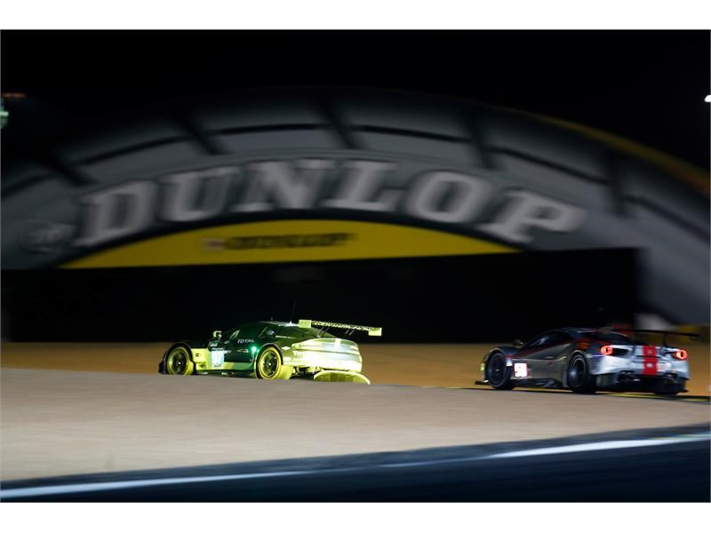 Goodyear Newsroom : Dunlop achieves the 24h 'Grand Slam'