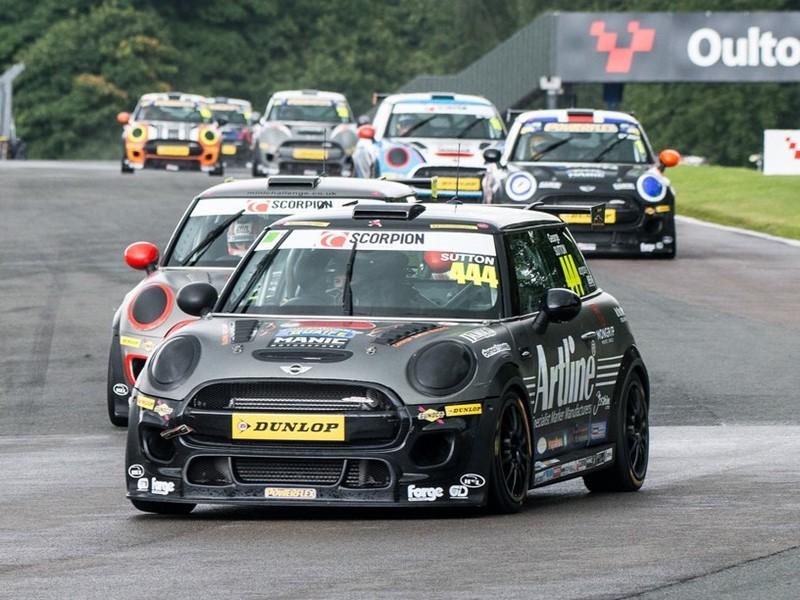 Goodyear Newsroom : MINI Challenge commits to Dunlop