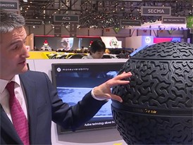 Soundbite Goodyear Eagle 360 Concept tire: Olivier Rousseau, Vice-President Consumer tires Goodyear EMEA