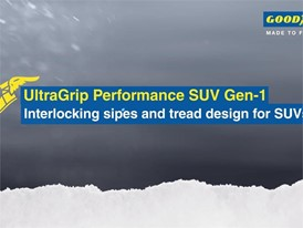 UltraGrip Performance SUV Gen-1 - Interlocking sipes and tread design for SUVs