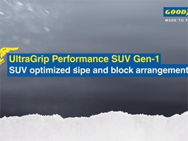 UltraGrip Performance SUV Gen-1 - SUV optimized sipe and block arrangements