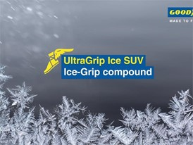 Goodyear UltraGrip Ice SUV. Video Animation: IceGrip Compound
