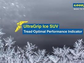 Goodyear UltraGrip Ice SUV. Video Animation: TOP Indicator