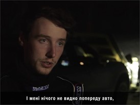 Dunlop Ski Jump - Interview With Driver (UA)