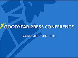 b-roll Pressconference Goodyear GIMS 2018 - Chris Delaney (part1)