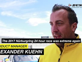 Reflecting on a thrilling 2017 Nurburgring 24h with Alexander Kuehn of Dunlop EN