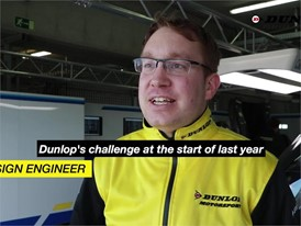 Vincent van Goor, Computational Mechanics Engineer for Dunlop Motorsport explains more