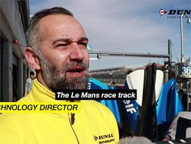 Sebastien Montet, Director, Tyre Technology talks about the challenge of Le Mans