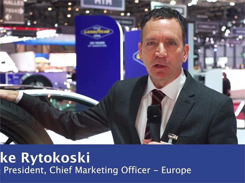 thenewsmarket com : b-roll Mike Rytokoski - Goodyear Intelligent