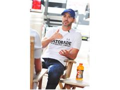 Gatorade Beat the Heat: Jimmie Johnson Rides Watkins Glen