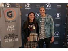 AZZI FUDD NAMED 2018-19 GATORADE® NATIONAL GIRLS BASKETBALL PLAYER OF THE YEAR