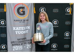 RECORD-BREAKING KATELYN TUOHY EARNS FIFTH GATORADE® NATIONAL PLAYER OF THE YEAR AWARD