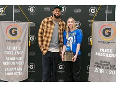 PAIGE BUECKERS NAMED 2019-20 GATORADE® NATIONAL GIRLS BASKETBALL PLAYER OF THE YEAR