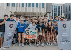 JONY MUNOZ NAMED 2019-20 GATORADE® NATIONAL BOYS SOCCER PLAYER OF THE YEAR