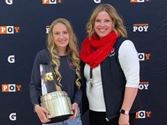 2020-21 Gatorade National Girls Cross Country Player of the Year Award Winner Sydney Thorvaldson