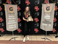 Roisin Willis and Hobbs Kessler Named 2020-21 Gatorade® National Track and Field Players of the Year