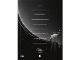 "Gatorade ""Made in New York"" Derek Jeter print ad"