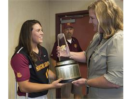 Gatorade National Softball Player of the Year award surprise